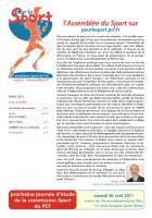 Pour le sport mars-avril 2011