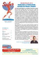 Pour le Sport - novembre 2013