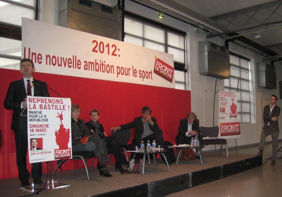 Jean Luc Mélenchon : il faut politiser la question du sport