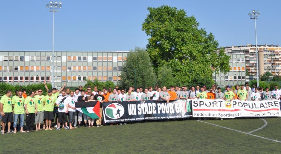 Un stade pour Gaza : Paris solidaire avec la Palestine