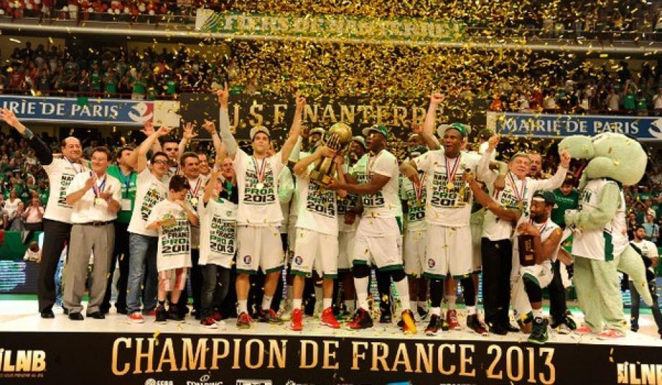 Nanterre : Champion de France !
