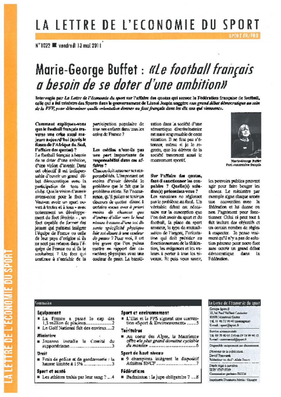 Marie George Buffet :