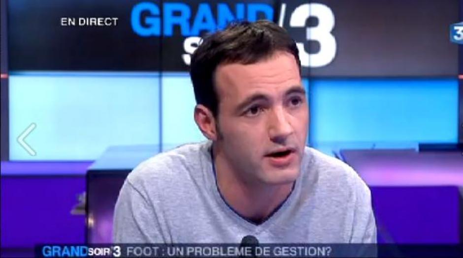 Nicolas Bonnet dans le Grand Soir 3 - Foot et Taxe à 75% (vidéo)